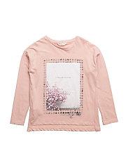 Printed image t-shirt - LT-PASTEL PINK
