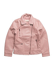 Zipped biker jacket - PINK