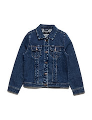 Denim jacket - OPEN BLUE