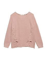 Bow knit sweater - PINK