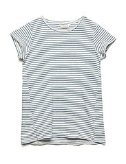 Essential cotton-blend t-shirt - LIGHT BEIGE