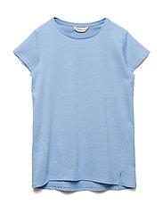 Essential cotton-blend t-shirt - LT-PASTEL BLUE