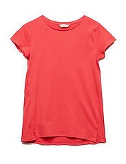 Essential cotton-blend t-shirt - RED