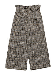 Tweed culotte trousers