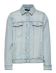 Pocketed denim jacket