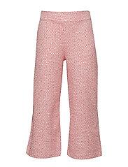 Tweed Culotte Trousers Bukser Rosa MANGO KIDS