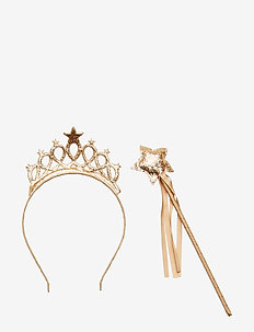 Headband and wand pack - GOLD