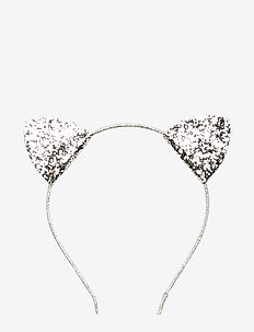 Glitter ears hairband - SILVER