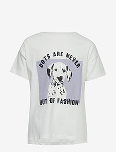 Cotton printed t-shirt - WHITE
