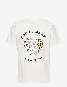 Reversible sequins t-shirt - WHITE