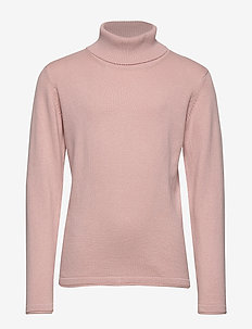 Turtleneck sweater - LT-PASTEL PINK