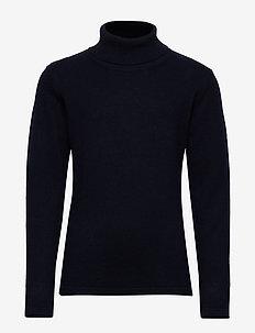 Turtleneck sweater - NAVY