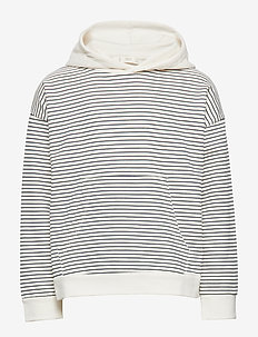 Cotton hoodie - NATURAL WHITE