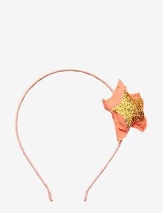 Glitter star hairband - BRIGHT RED
