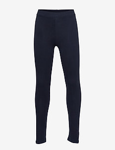 Cotton leggings - NAVY