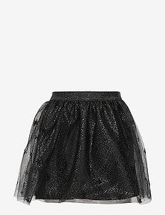 Star tulle skirt - BLACK