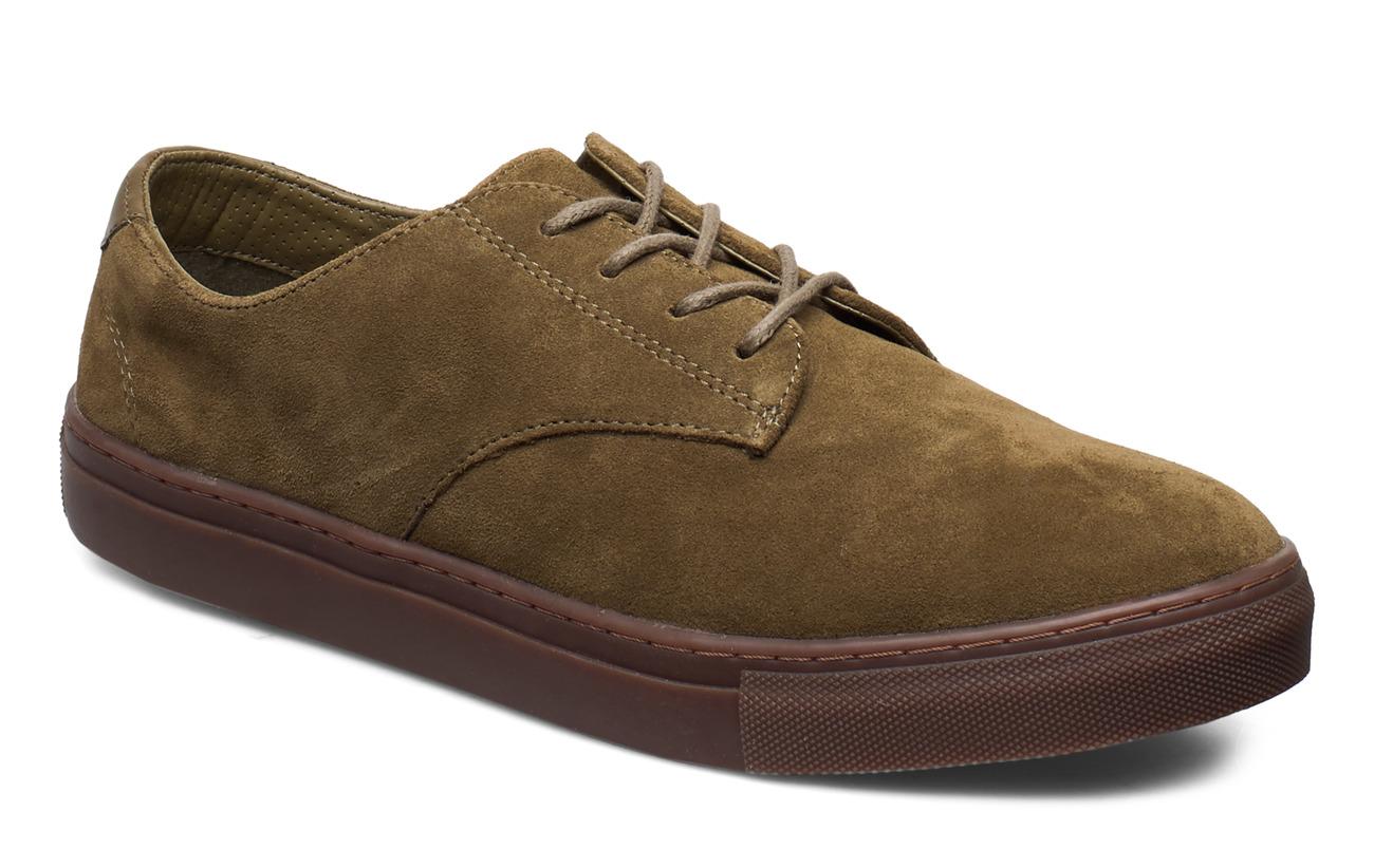 Mango Man Suede sport shoes - BEIGE - KHAKI