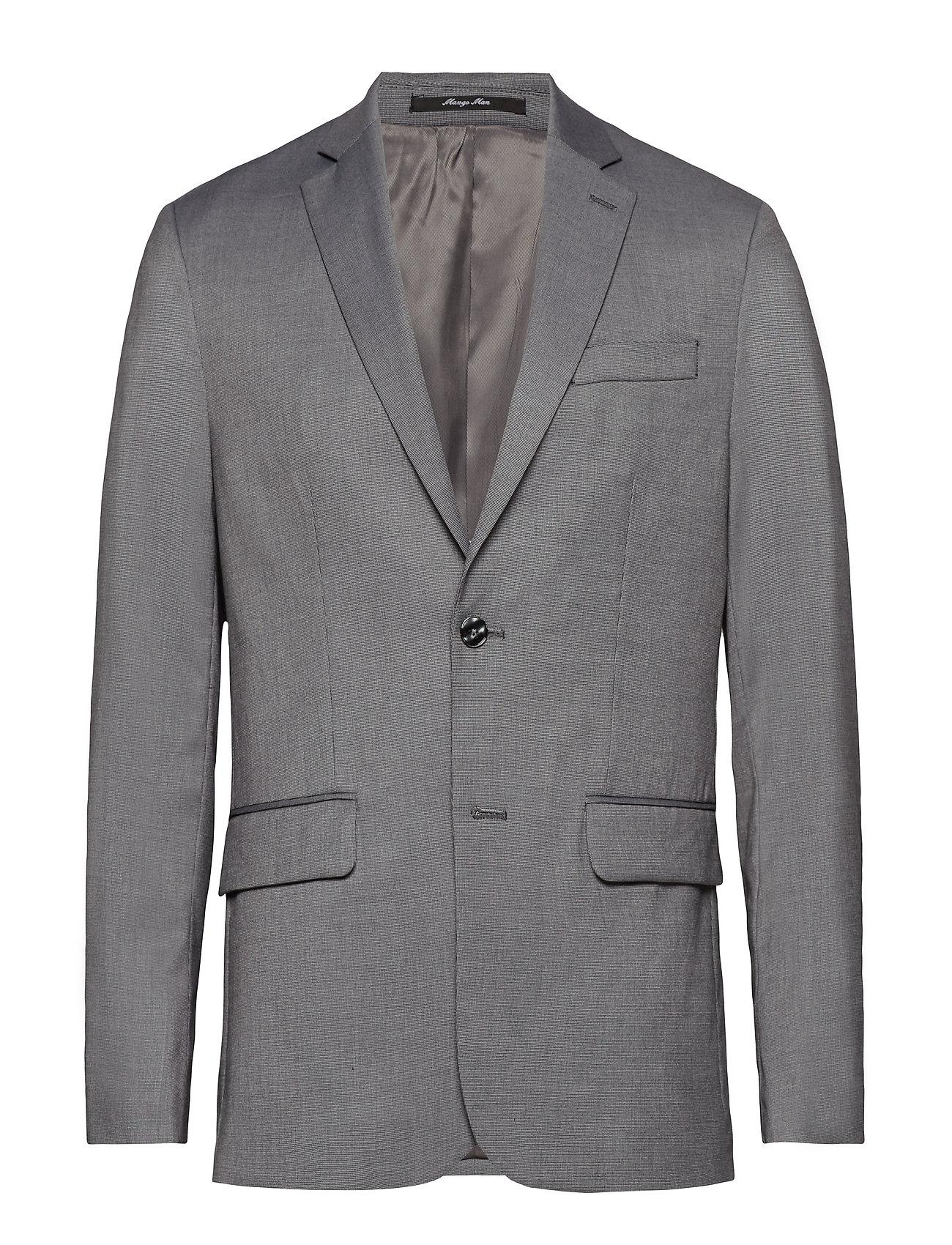 Mango Man Slim fit end on end suit blazer Kostymer & kavajer