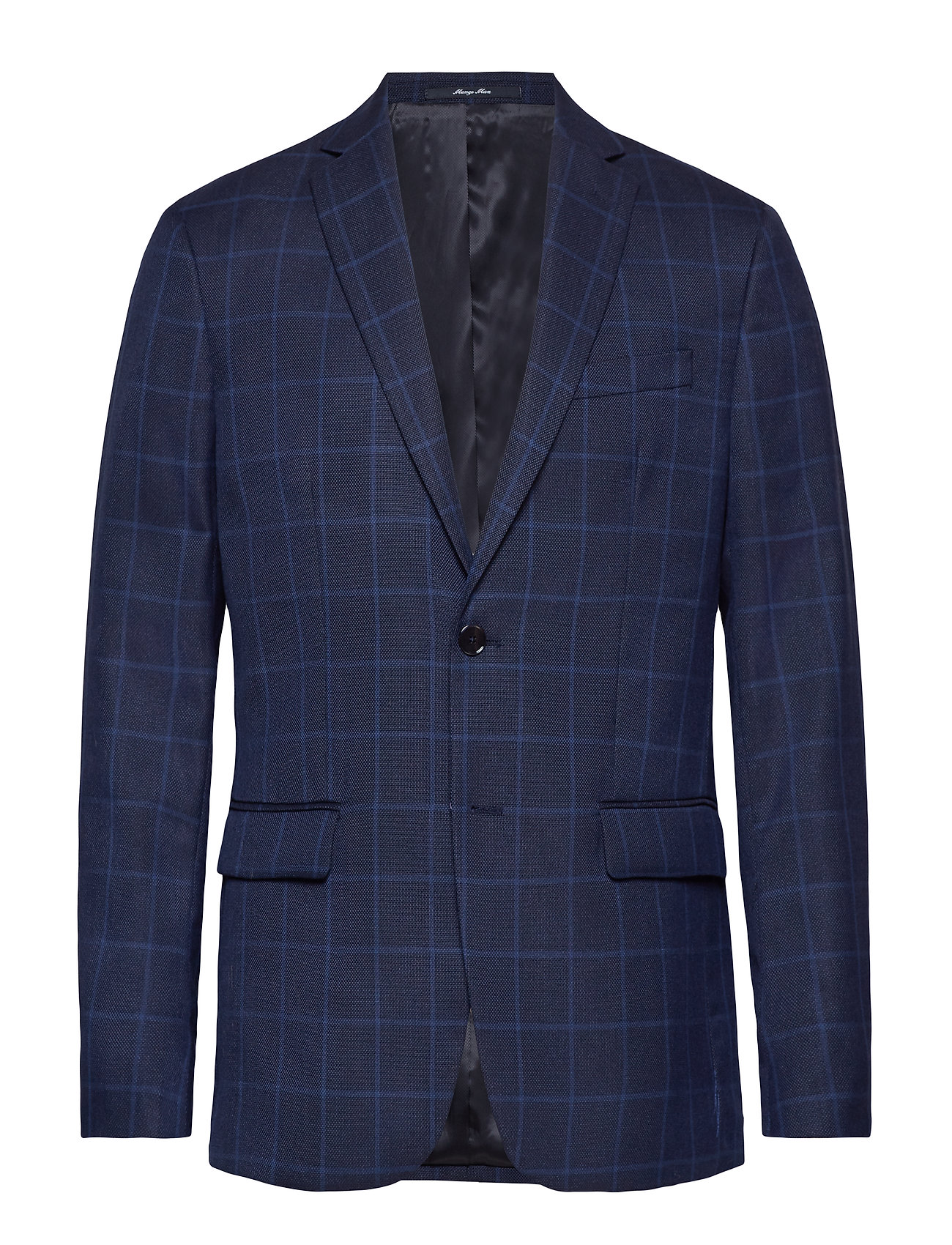 Mango Man Slim fit check suit blazer Kostymer & kavajer