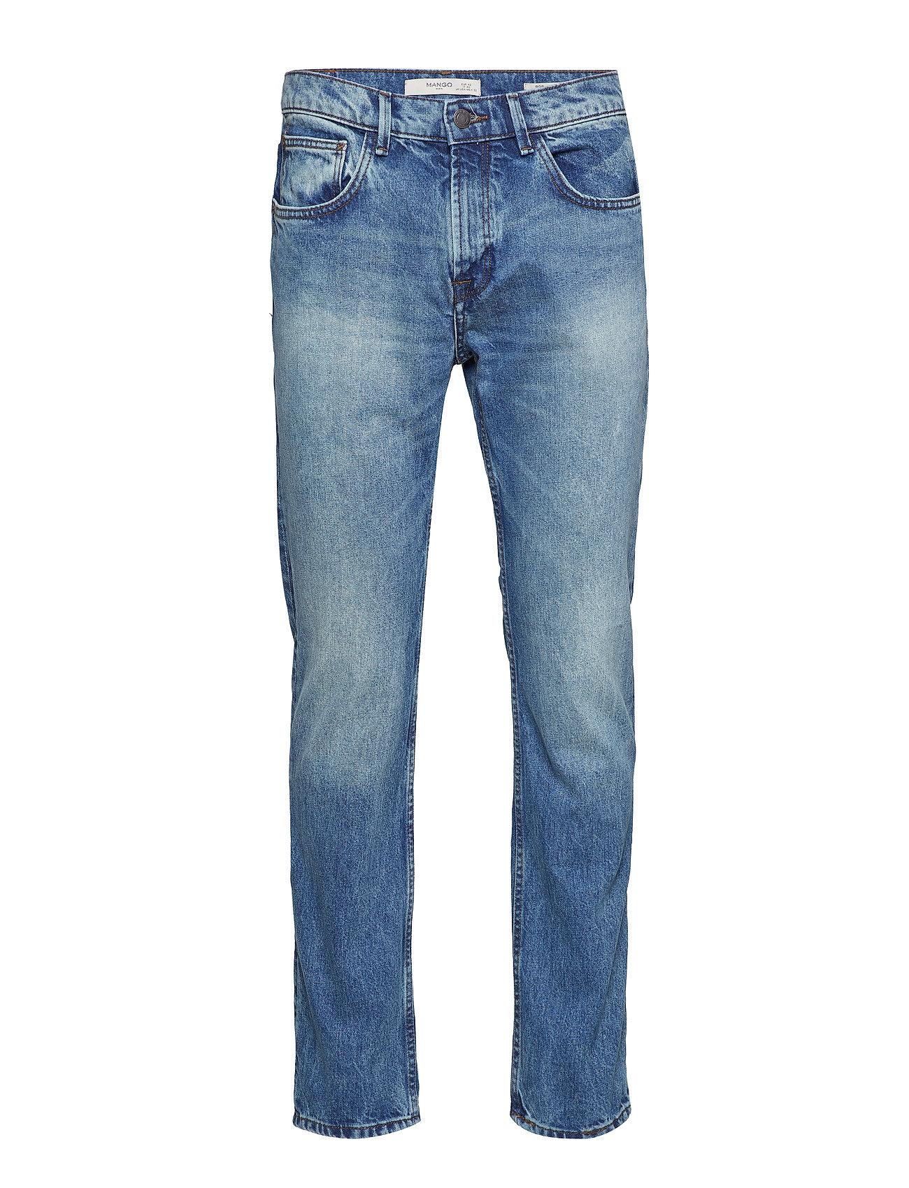 Mango Man Regular fit vintage wash Bob jeans Jeans