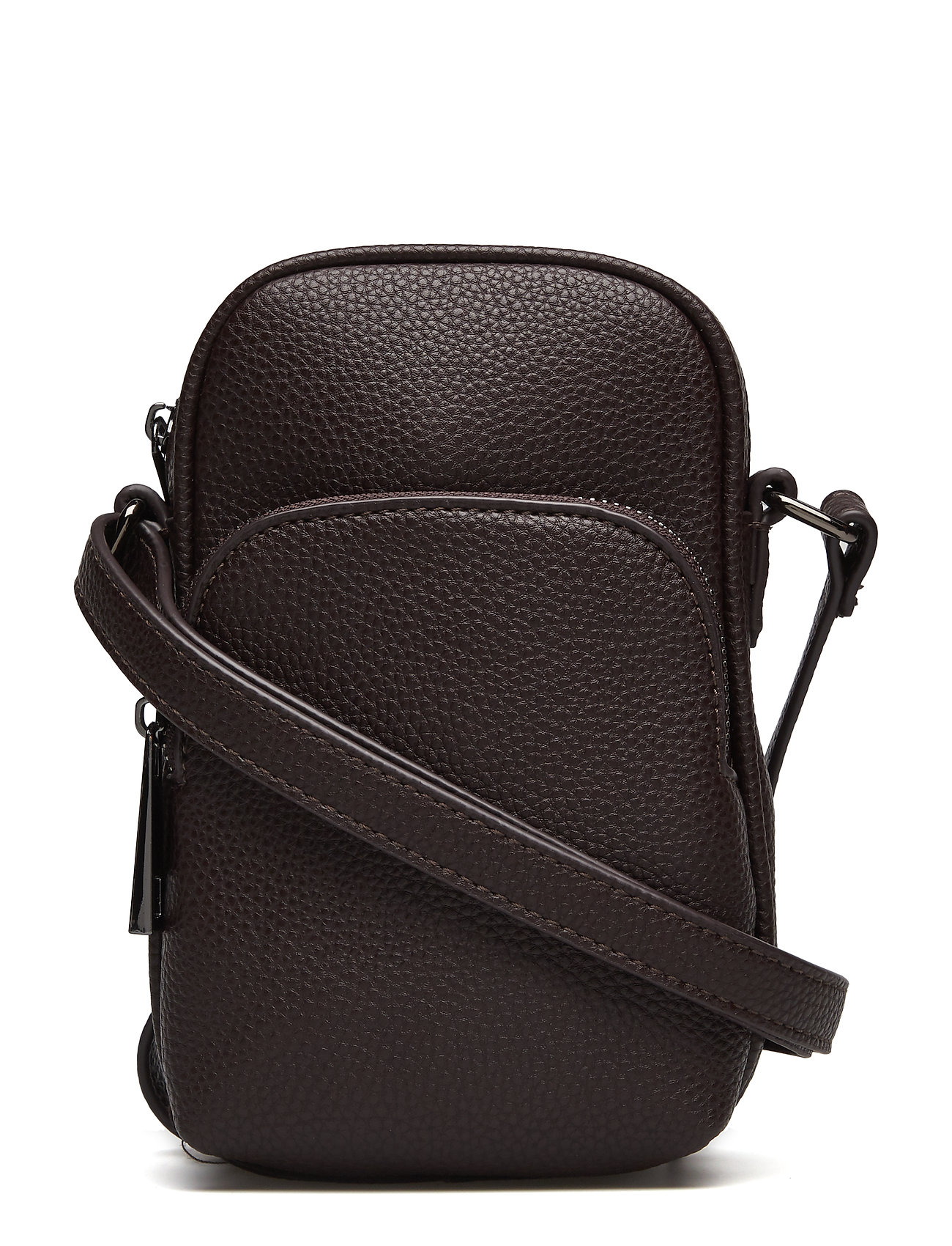 Pebbled Crossbody Belt Bag Skuldertaske Sort MANGO MAN