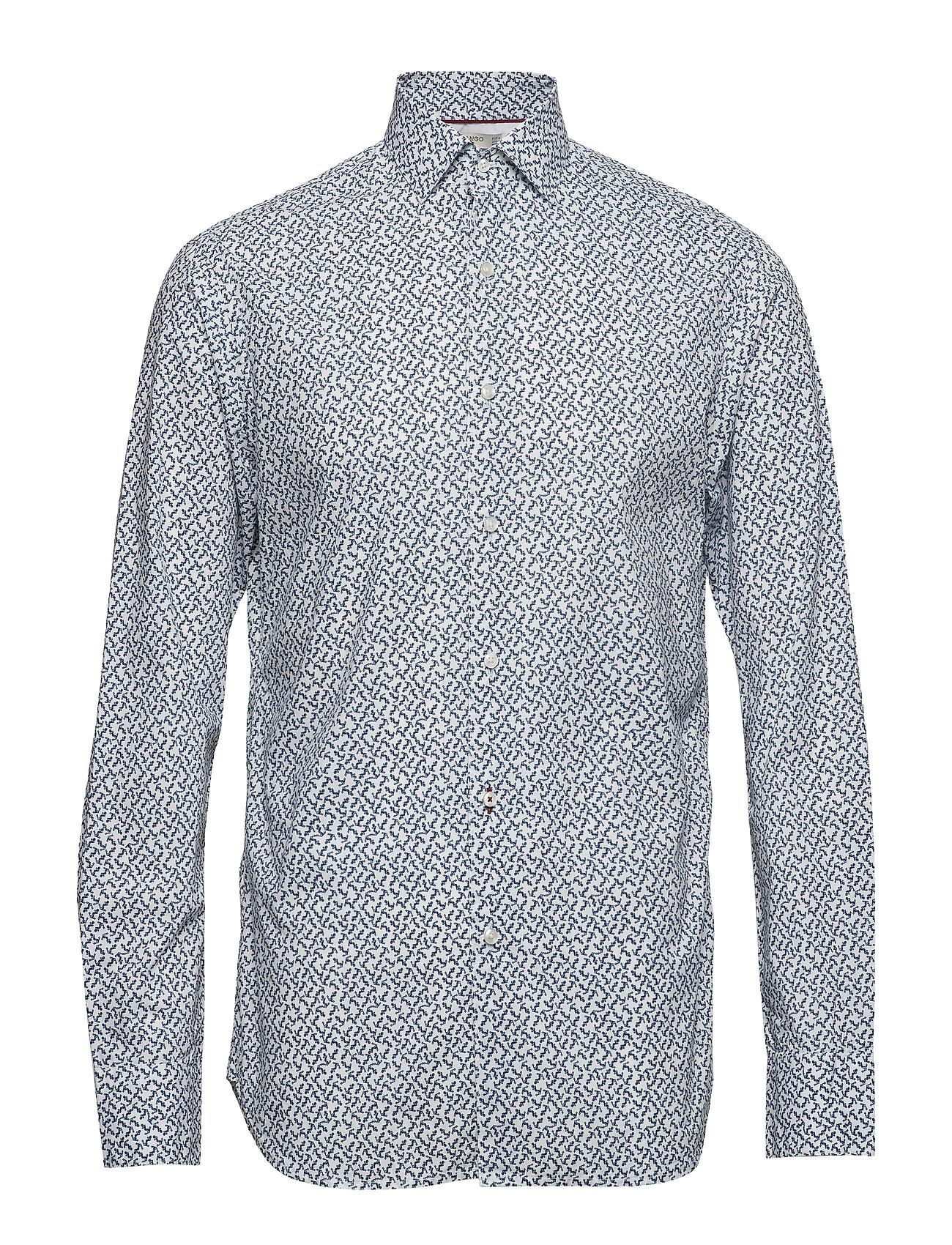 Mango Man Slim fit printed cotton shirt Ögrönlar