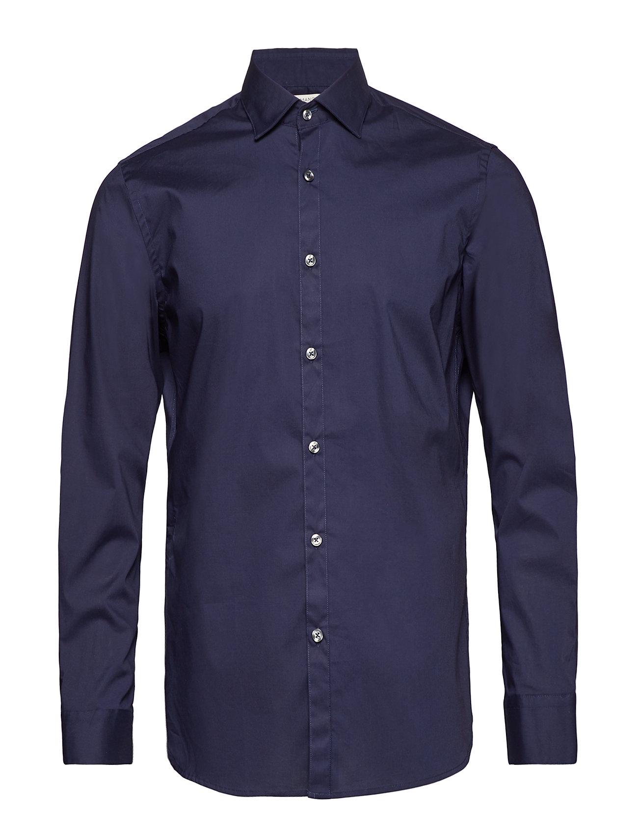 Mango Man Slim fit stretch cotton shirt Ögrönlar