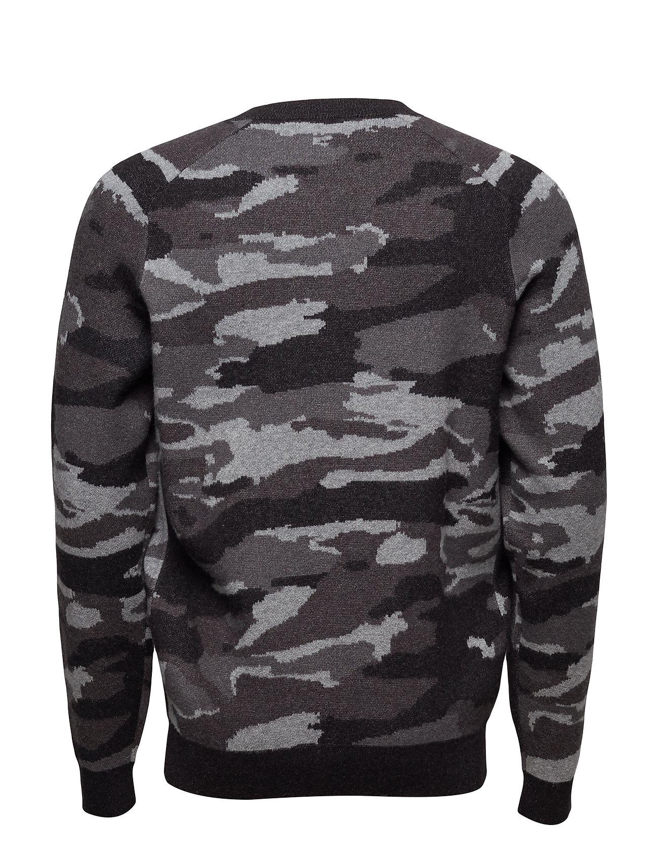 e78e3f759d11 ... Mango Man Camo print jacquard sweater sweater sweater Ögrönlar 969855