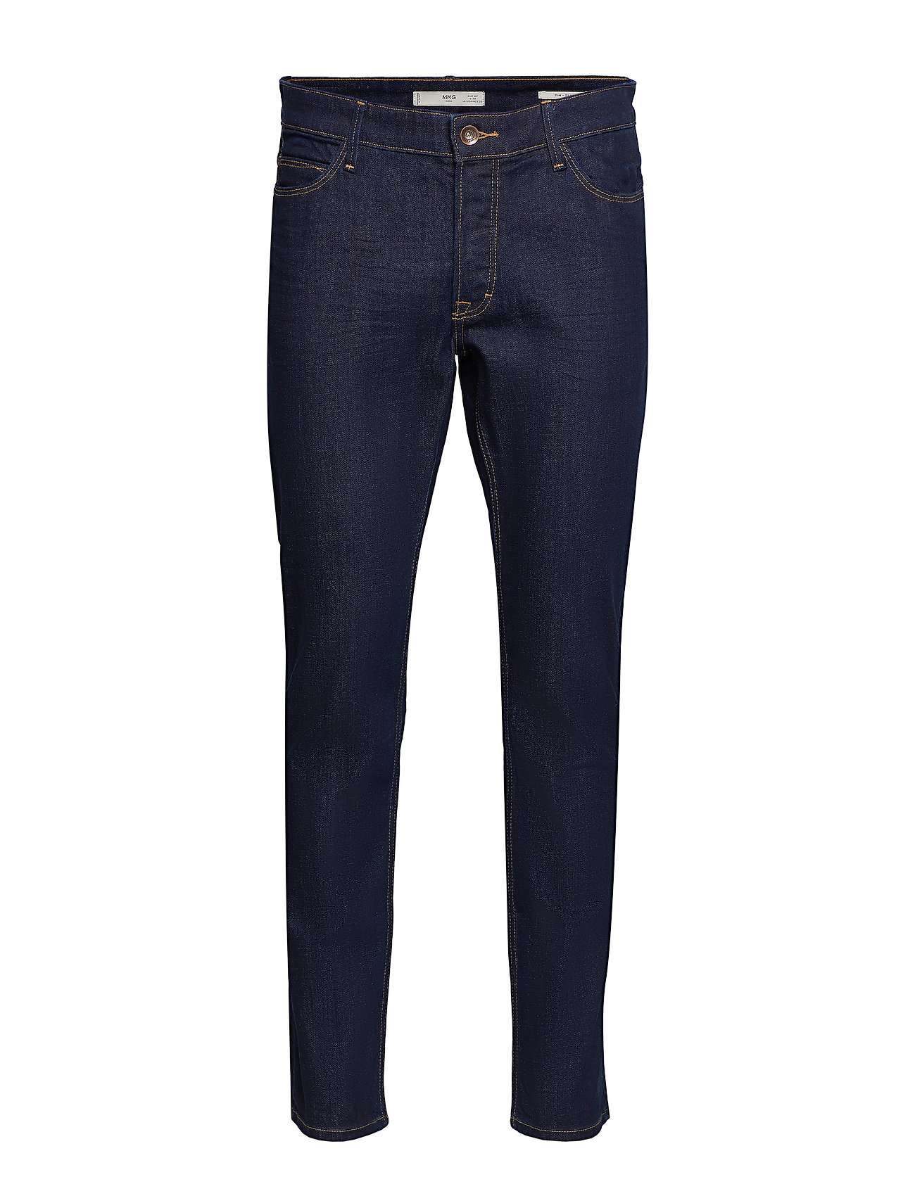 Mango Man Slim fit soft wash Tim jeans - OPEN BLUE