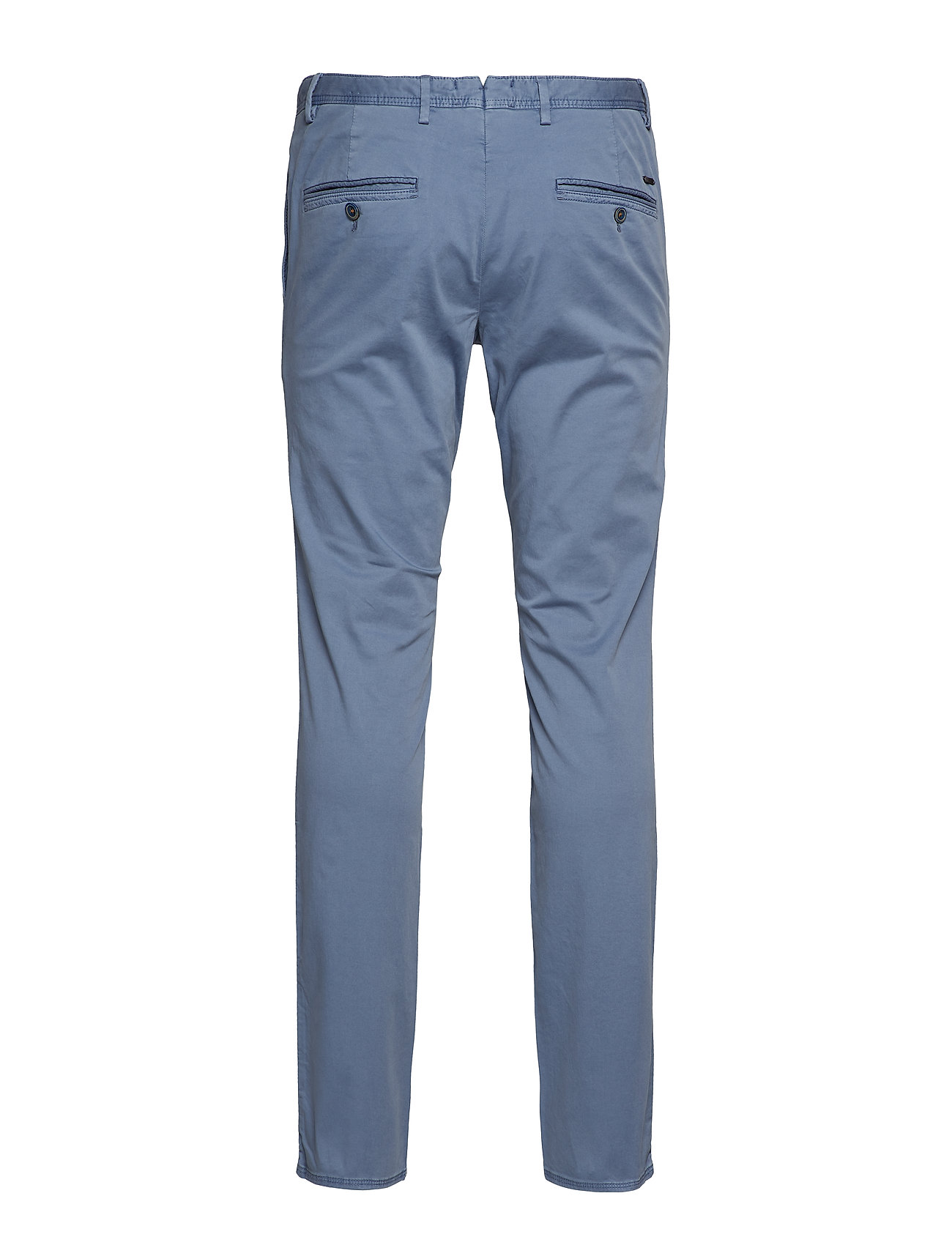 Slim Fit Chino Trousers Chinos Bukser Blå Mango Man