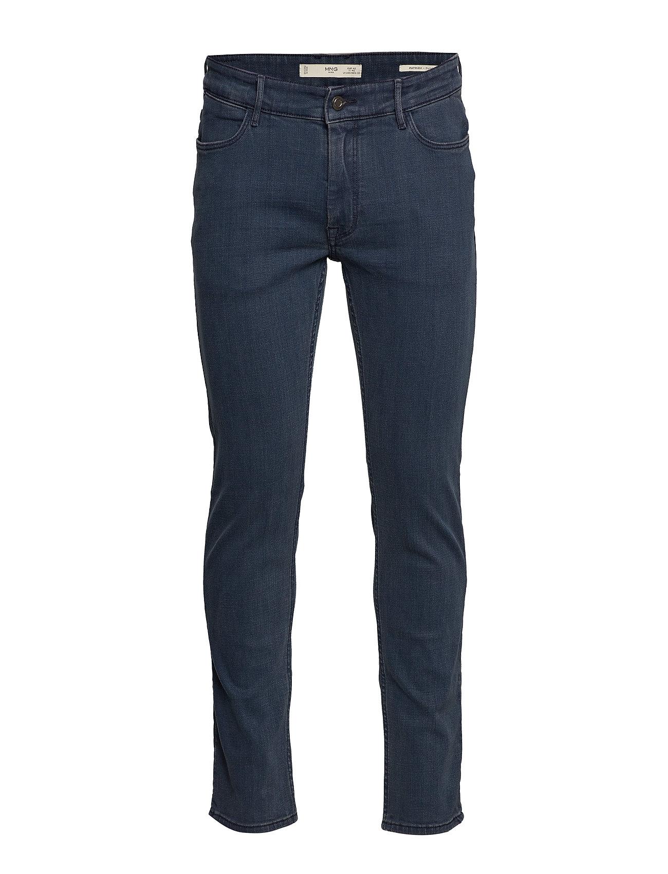 Mango Man Slim fit navy Patrick jeans - DARK BLUE
