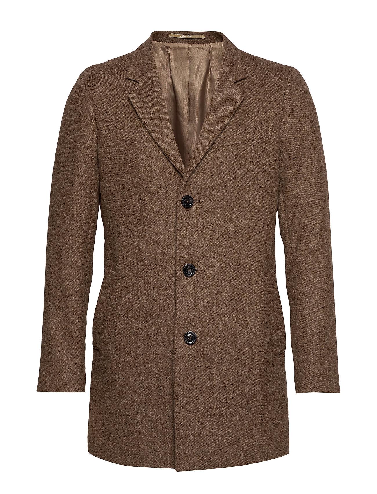 Mango Man Flecked wool Tailored coat - MEDIUM BROWN