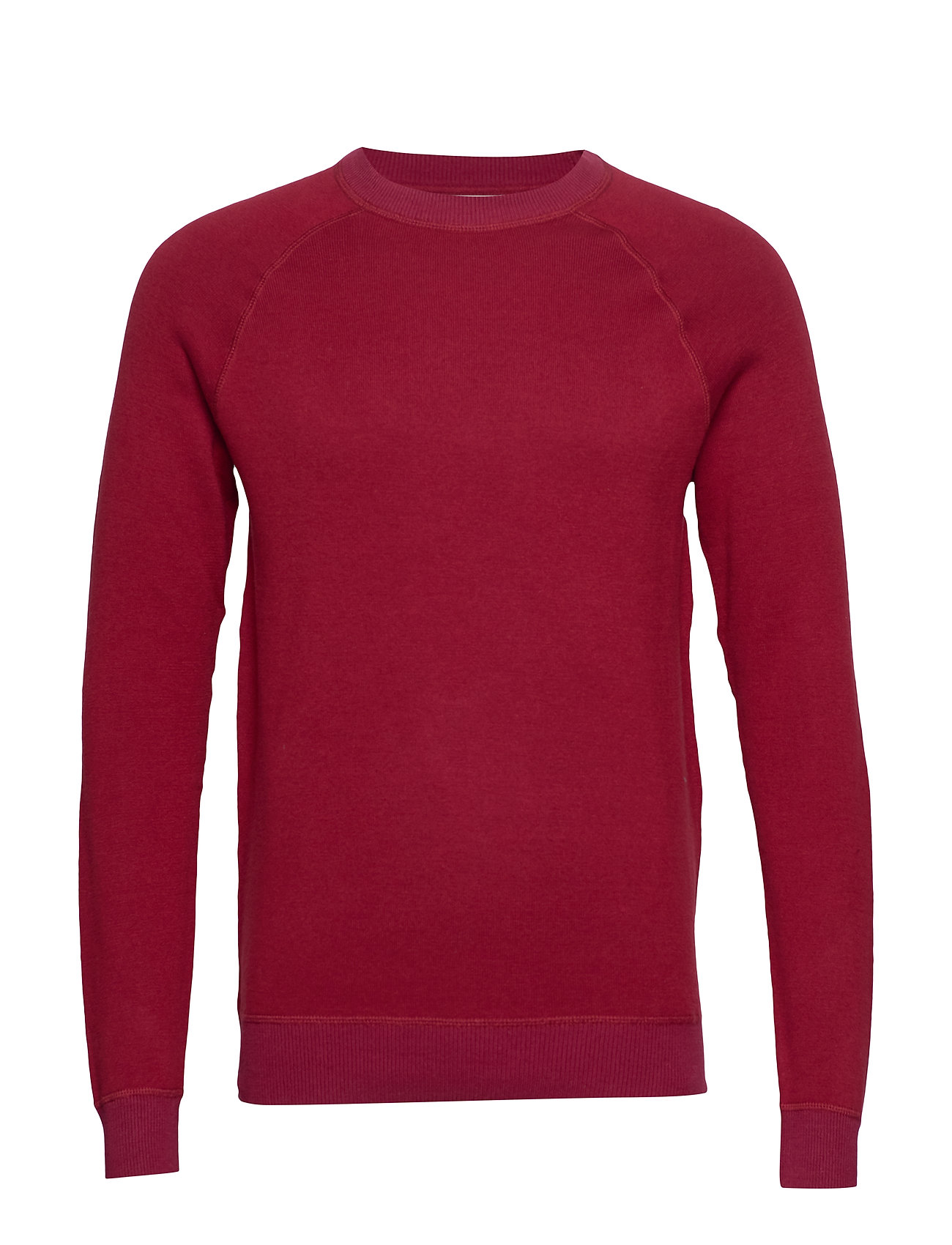 Mango Man Elbow-patch cotton sweater - RED
