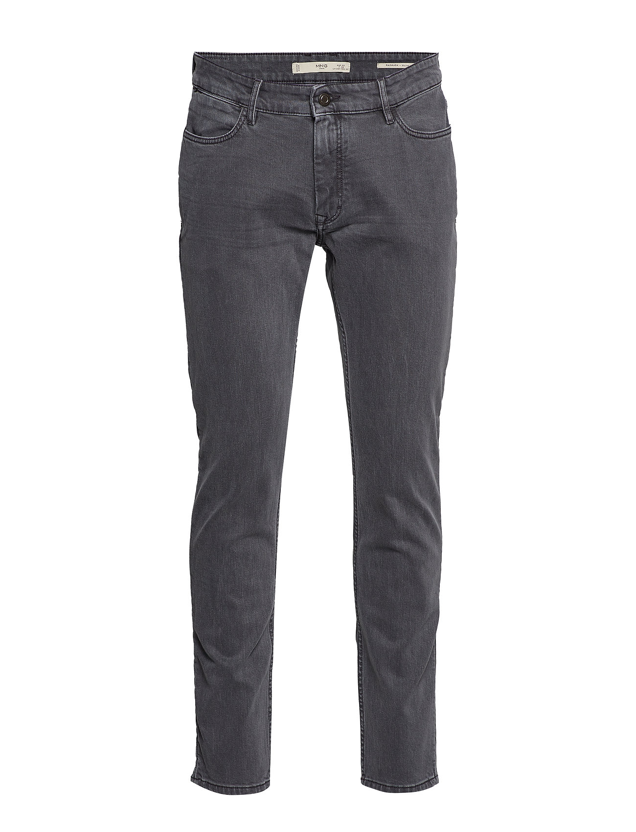 Mango Man Slim fit grey Patrick jeans - OPEN GREY