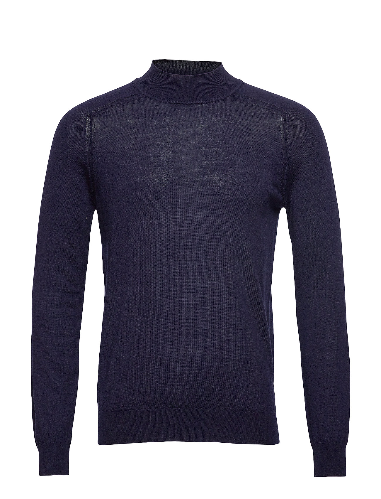 Mango Man 100% merino wool sweater - NAVY