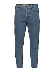 Medium wash straight-fit jeans - OPEN BLUE