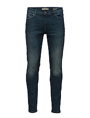Skinny faded medium wash Jude jeans - GREEN