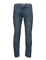 Straight-fit medium wash Bob jeans - OPEN BLUE