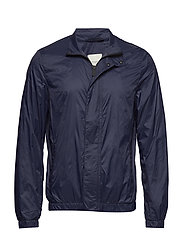 Nylon windbreaker jacket - NAVY