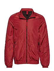 Technical fabric windbreaker - RED