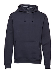Pocket cotton sweatshirt - NAVY