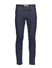 Slim fit dark wash Jan jeans - OPEN BLUE