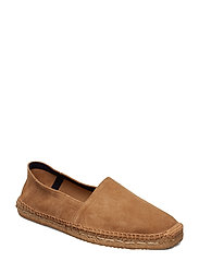 Suede Espadrilles Shoes Business Loafers Brun MANGO MAN