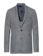 Slim-Fit Linen Cotton-Blend Blazer