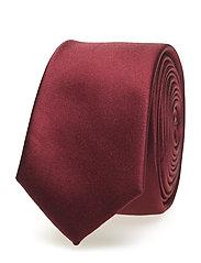 Narrow Satin Tie
