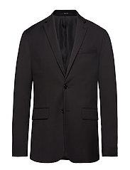 Slim-Fit Suit Blazer Blazer Kavaj Svart MANGO MAN