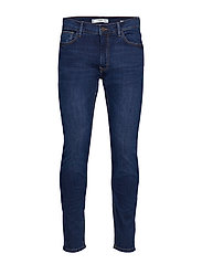 Skinny Dark Wash Jude Jeans Skinny Jeans Blå MANGO MAN