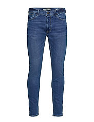 Skinny Medium Wash Jude Jeans Skinny Jeans Blå MANGO MAN