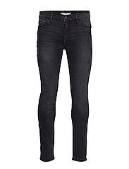 Skinny Dark Grey Wash Jude Jeans Skinny Jeans Blå MANGO MAN