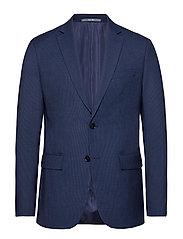 Slim-Fit Suit Blazer Blazer Kavaj Blå MANGO MAN